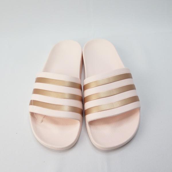 ADIDAS ADILETTE AQUA 女款 防水拖鞋 公司貨 FW4291 粉【iSport愛運動】