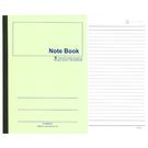 【奇奇文具】加新 3PF18080 18K 綠色平裝筆記本/筆記簿 (80入)