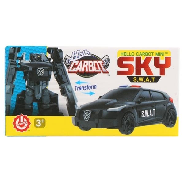 HELLO CARBOT 迷你衝鋒戰士 特警飛天CK32591原廠公司貨