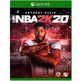 [哈GAME族]免運費●收錄遊戲幣+聯盟卡包●Xbox One NBA 2K20 中文版 美國職業籃球賽 9/6發售預定