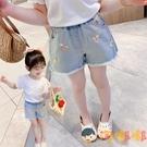 女童牛仔短褲夏季薄款韓版休閒兒童外穿潮童【淘嘟嘟】
