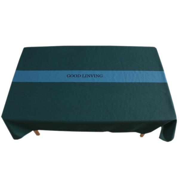 時尚可愛空間防水餐桌布 茶几布 隔熱墊 鍋墊 杯墊 餐桌巾 606 (100*140cm)
