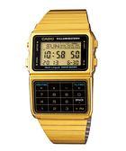 【台南 時代鐘錶 CASIO】卡西歐 台灣公司貨 DBC-611G-1 DATABANK系列計算機多功能電子錶