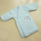 GMP BABY 寶貝保暖抖熊毛巾布鋪棉和服~1件藍色