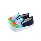 粉紅豬小妹 Peppa Pig 休閒鞋 懶人鞋 童鞋 藍色 中童 童鞋 PG8540 no832 14~18cm