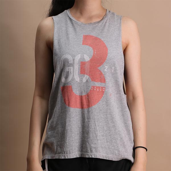 REEBOK 背心CROSSFIT® 321GO MUSCLE 灰橘 透氣 健身 女 (布魯克林) DU4595