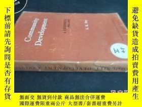 二手書博民逛書店community罕見developmentY5919 不詳.