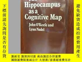 二手書博民逛書店The罕見Hippocampus As A Cognitive MapY256260 John O&#