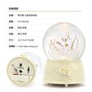 讚爾藝術 JARLL~雙天鵝 水晶球音樂盒(HV1403) 愛情婚禮 情人禮物