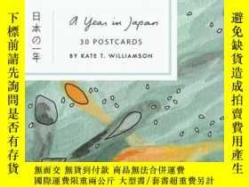 二手書博民逛書店A罕見Year In Japan Postcard BookY256260 Kate T. Williamso