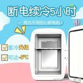 迷你冰箱  冷藏冷凍母乳小型家用學生宿舍制冷二人世界 220v JD 晶彩生活