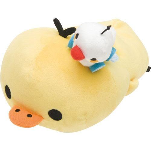 拉拉熊 娃娃手機座 小雞 可愛 實用 日本正版 該該貝比日本精品 ☆