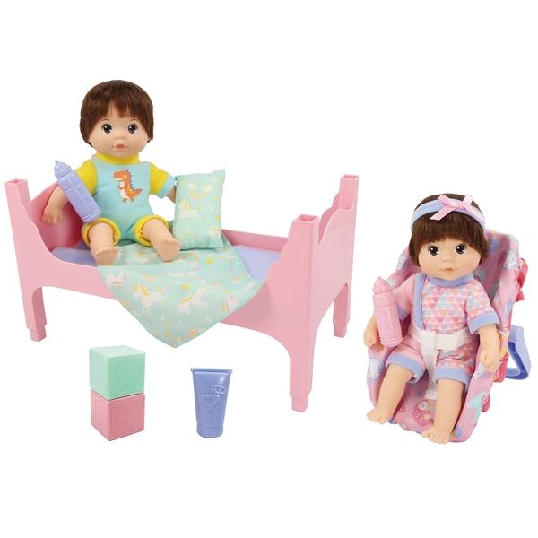Baby Blush 親親寶貝 雙胞胎娃娃照顧禮盒組 玩具反斗城