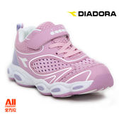 【Diadora 迪亞多那】中童款休閒慢跑鞋 -粉色 (D6532)全方位跑步概念館