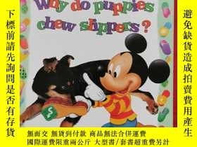 二手書博民逛書店Why罕見Do Dogs Chew Slippers? 書後有劃線Y23470 MICKEY MICKEY