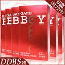 【DDBS】GAMEBOY 勁小子 衛生套保險套 超激點型 12片裝6盒(共72片)