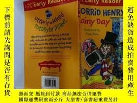 二手書博民逛書店Horrid罕見henry s Rainy day:可怕的亨利雨天Y200392