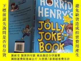 二手書博民逛書店horrid罕見henry s jolly joke book 可怕的亨利的快樂笑話書.Y200392