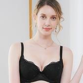 EASY SHOP-香芬開運 大罩杯B-E罩內衣(氣質黑)