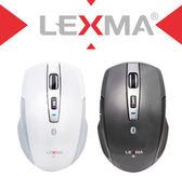 新竹【超人3C】LEXMA B600R無線2.4G 藍牙滑鼠 2.4G 可自由切換使用 提供原廠3年到府收送優質服務