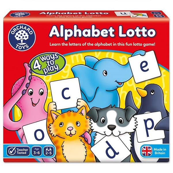 【樂桌遊】字詞學習4合一 Alphabet Lotto(2010英文版) 10152