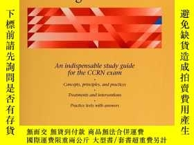 二手書博民逛書店American罕見Nursing Review for Critical Care Nursing Certif