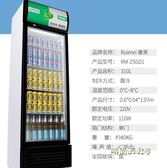 睿美展示櫃冷藏櫃立式商用雙門冰櫃冰箱啤酒超市水果保鮮櫃飲料櫃 220V MBS「時尚彩虹屋」