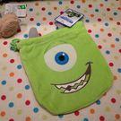 【發現。好貨】怪獸電力公司 大眼仔 迪士尼 玩具總動員怪獸大學化妝包拍得立相機包束口袋