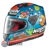 [安信騎士] 義大利 Nolan N64 #42 M. MELANDRI 海底世界 金屬珍珠藍 輕量 透氣 全罩 安全帽