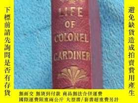 二手書博民逛書店1848年,英文原版古董書:LIFE罕見OF COLONEL G