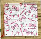 【震撼精品百貨】Hello Kitty 凱蒂貓~HELLO KITTY日本SANRIO三麗鷗KITTY縮口袋/購物袋-蝴蝶結*50139