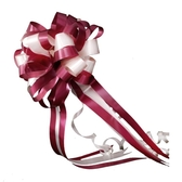 結婚用品拉花婚車裝飾用品把後視鏡手拉花彩帶花車隊裝飾婚房佈置 降價兩天