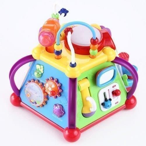 《匯樂》 《【匯樂】十五合一15合1 快樂小天地 》匯樂806 / 快樂小天地15合1 / 嬰幼兒玩具