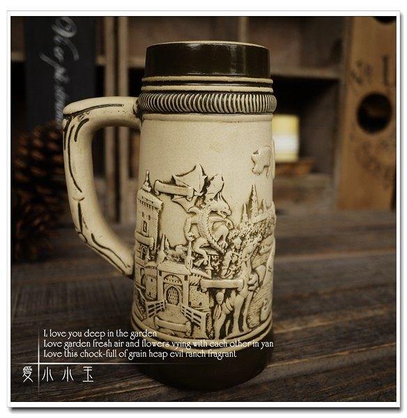 【波蘭克拉科夫】陶瓷德國啤酒杯創意
