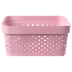 荷蘭 Curver INFINITY系列 DOTS樣式款 收納盒 4.5L 粉色