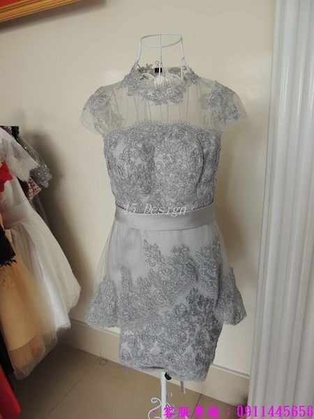 (45 Design) 訂做款式7到貨中大尺碼 可定做顏色 禮服 結婚 喜宴 尾牙 春酒 短洋裝禮服 專業訂製款