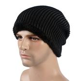 針織毛帽-韓版潮流經典滑雪男帽子5色73if48【時尚巴黎】