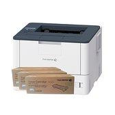 FujiXerox DocuPrint P375dw 黑白網路雷射印表機 搭三支CT203109原廠碳粉匣