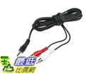 [105美國直購] 電纜線 Audio Y Cable Splitter 1-Mini Plug, 2-RCA Plugs (6 feet) F8V235-06