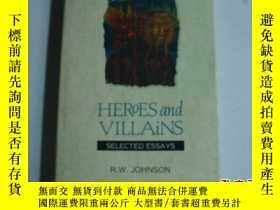 二手書博民逛書店HEROES罕見AND VILLAINS SELECTED ES