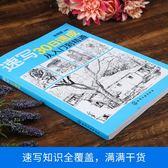 風景速寫書人物臨摹結構素描書入門自學零基礎教材鉛筆畫入門基礎教程書   歐韓流行館