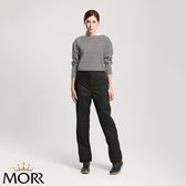 【MORR】Expansion可收納延伸鞋套雨褲【個性黑】機車/兩件式