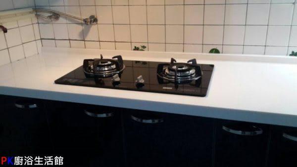 ❤PK廚浴生活館 實體店面❤高雄 廚房歐化系統櫥具 270公分一字型流理台 人造石 美耐板