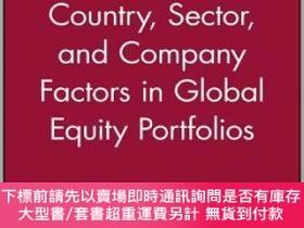 二手書博民逛書店預訂Country,罕見Sector And Company Factors In Global Equity P