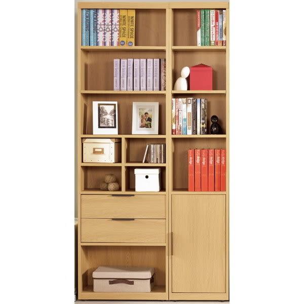 書櫃 書櫥 MK-374-12 達拉斯3.3尺書櫥【大眾家居舘】