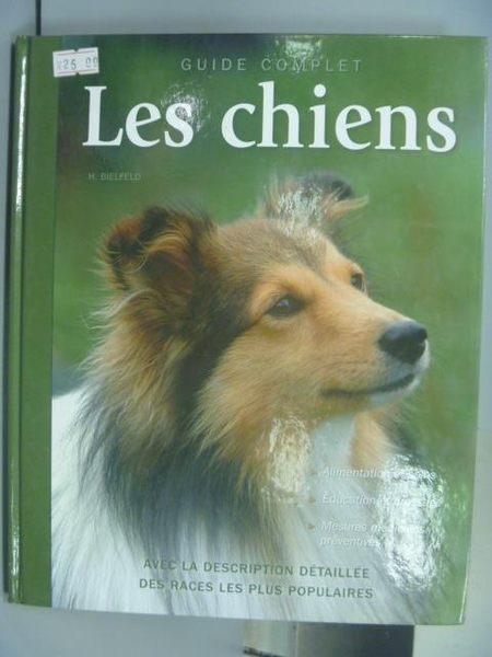 【書寶二手書T4/寵物_PCA】Les chiens