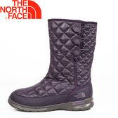 【The North Face 美國 女款 ThermoBall保暖雪靴《紫》】2T5K/防滑/休閒/中筒靴★滿額送