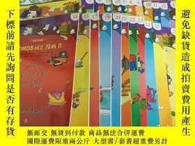 二手書博民逛書店罕見Words詞彙漫畫書(共24本冊)Y204356 布賴恩·克