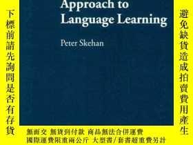 二手書博民逛書店A罕見Cognitive Approach to Language Learning (Oxford Applie