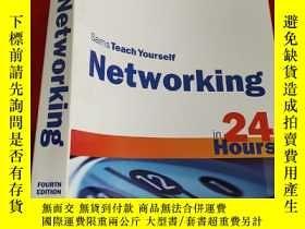 二手書博民逛書店Sams罕見Teach Yourself Networking in 24 Hours (4th Edition)